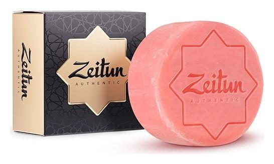Алеппское экстра мыло для чувствительной кожи Дамасская роза Zeitun