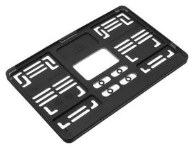 Рамка под номерной знак для японских и американских автомобилей Avs, 290х170 мм, черная  AVS