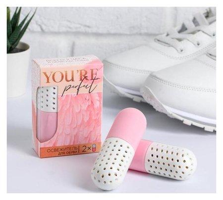 "Освежающие капсулы для обуви ""You're Perfect"", 2 шт, 6,4 х 12,2 х 3,3 см  NNB"