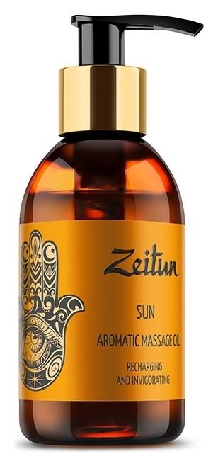 Ароматическое массажное масло с лемонграссом, грейпфрутом и мандарином Солнце Zeitun
