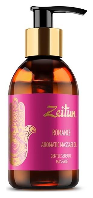 Ароматическое массажное масло с алой розой и сандалом Романтика Zeitun