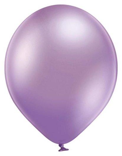 Шар латексный 14 хром Glossy, фиолетовый, набор 50 шт. Belbal