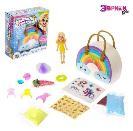 Набор для опытов «Радужная сумка», принцесса  Эврики