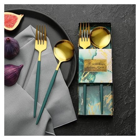 Набор из двух столовых приборов «В эстетике твоего вкуса», 22,5 х 8 см  NNB
