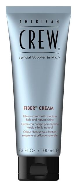Крем средней фиксации с натуральным блеском Fiber Cream American Crew