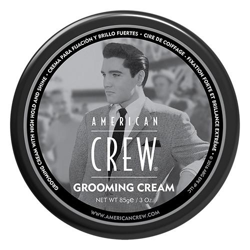 Крем для укладки волос и усов сильной фиксации Grooming Cream American Crew