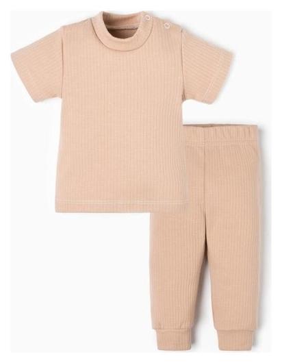 Комплект (Футб. И брюки) крошка Я, Basic Line, рост 62-68 см  Крошка Я