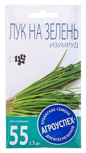 Семена Лук на зелень изумруд, 1г  Агроуспех