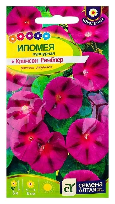Семена цветов ипомея Кримсон рамблер, О, 0,5 г. Семена Алтая