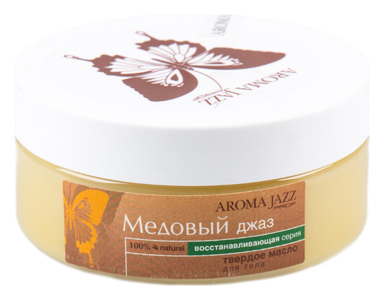 Твердое массажное масло Медовый джаз Aroma Jazz