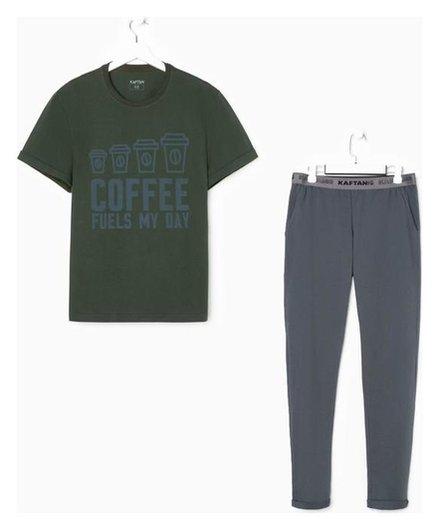 """Пижама мужская Kaftan """"Coffee"""" р.54  Kaftan"""