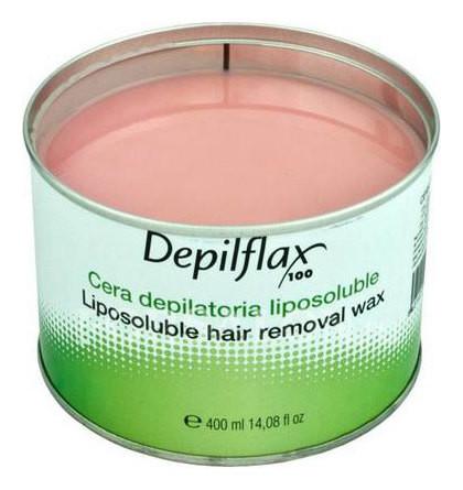 Воск в банке Розовый Depilflax