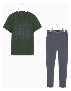 """Пижама мужская Kaftan """"Coffee"""" р.50  Kaftan"""