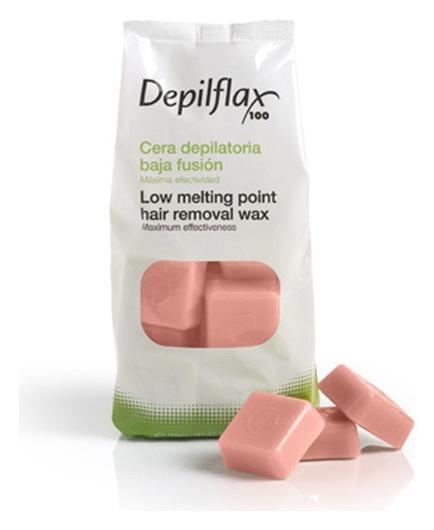 """Горячий воск в дисках """"Розовый""""  Depilflax"""