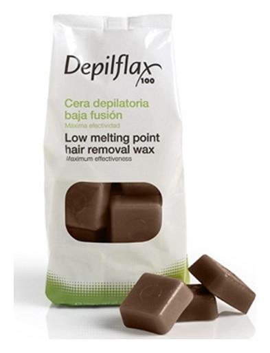 """Горячий воск в дисках """"Шоколад""""  Depilflax"""