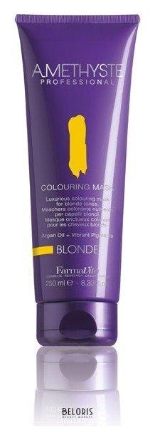 Купить Маска для волос FarmaVita, Оттеночная маска для волос Colouring Mask , Италия, Блондин