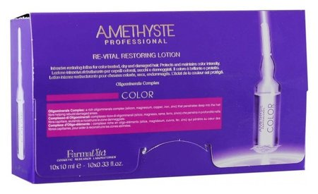 Оживляющий лосьон после окрашивания Color re-vital restoring lotion FarmaVita Amethyste