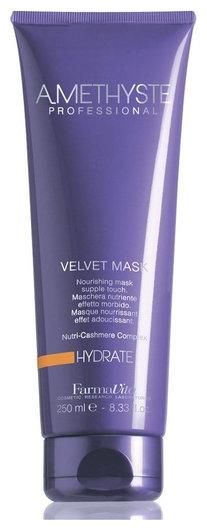 Маска бархатистая для сухих и поврежденных волос Hydrate mask  FarmaVita