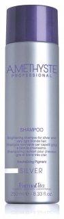 Шампунь для седых и осветленных волос Silver shampoo  FarmaVita