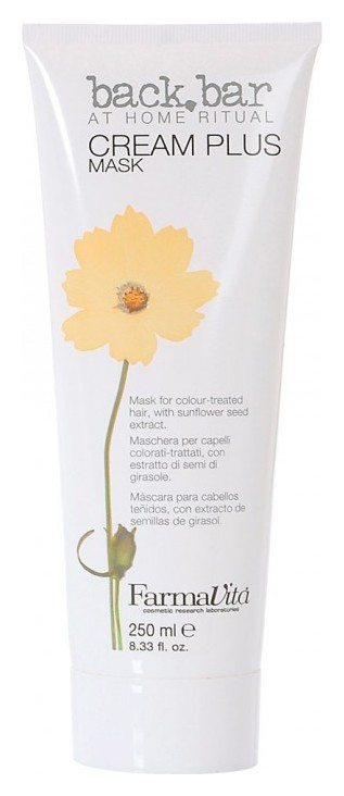 Крем-маска для волос Cream plus mask  FarmaVita