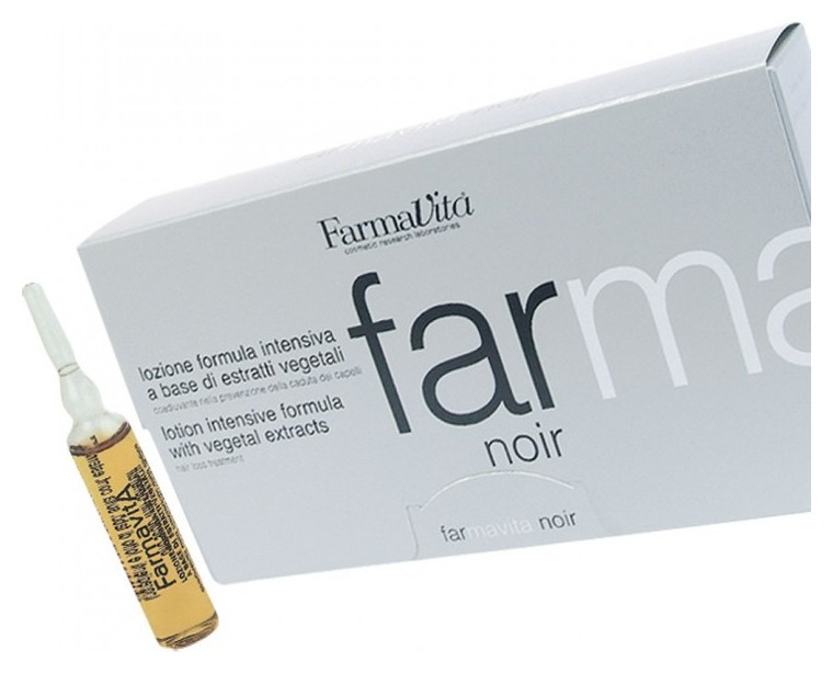 Лосьон против выпадения волос Lotion Noir  FarmaVita