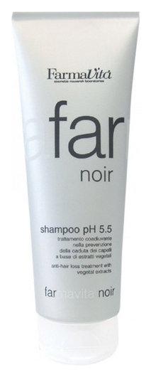 Шампунь против выпадения волос Shampoo Noir  FarmaVita