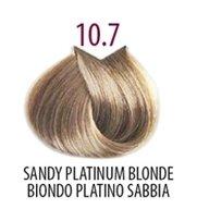 Тон 10.7 Очень светлый блондкоричневый кашемир  FarmaVita