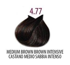 Тон 4.77 Интенсивный коричневый кашемир  FarmaVita