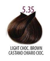 Тон 5.35 Светло-каштановый шоколадный  FarmaVita