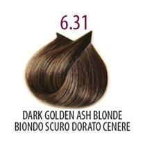 Тон 6.31 Темный блондин, золотисто-пепельный  FarmaVita