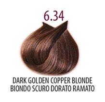 Тон 6.34 Темный блондин золотисто-медный  FarmaVita