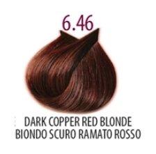 Тон 6.46 Темный блондин медно-красный  FarmaVita