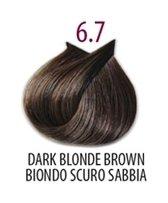Тон 6.7 Светлый коричневый кашемир  FarmaVita