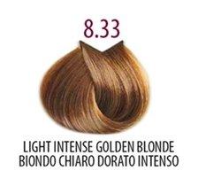 Тон 8.33 Насыщенный светлый золотистый блондин  FarmaVita
