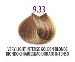 Тон 9.33 Насыщенный очень светлый золотистый блондин  FarmaVita