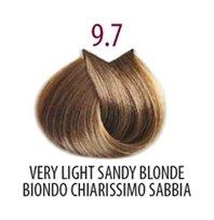 Тон 9.7 Светлый блондин коричневый кашемир  FarmaVita
