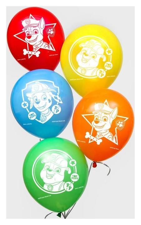 """Воздушные шары """"Paw Patrol"""", щенячий патруль (Набор 25 шт) 12 дюйм  Paw patrol"""