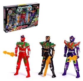 Набор роботов «Команда героев»