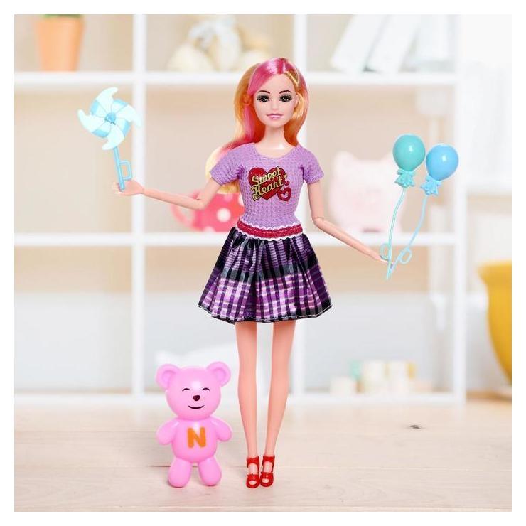 Кукла-модель «Арина» в платье, с аксессуарами NNB