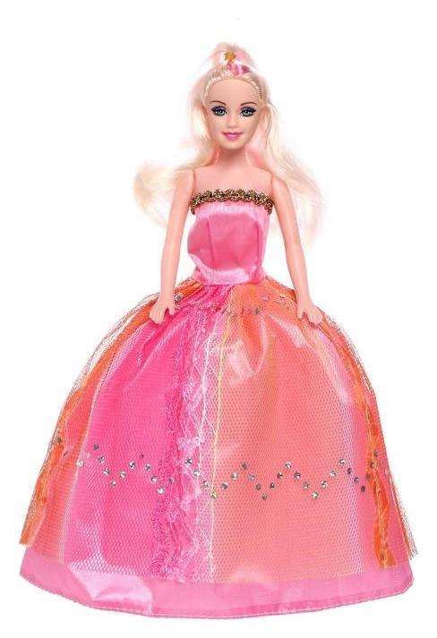 Кукла-модель «Оля» в платье, с аксессуарами  NNB