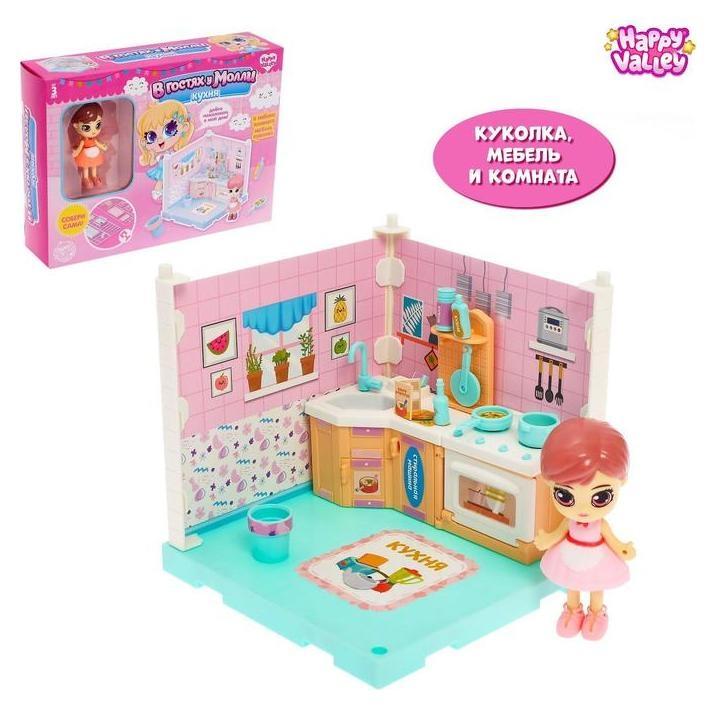 Кукольный дом «В гостях у молли», кухня  Happy Valley