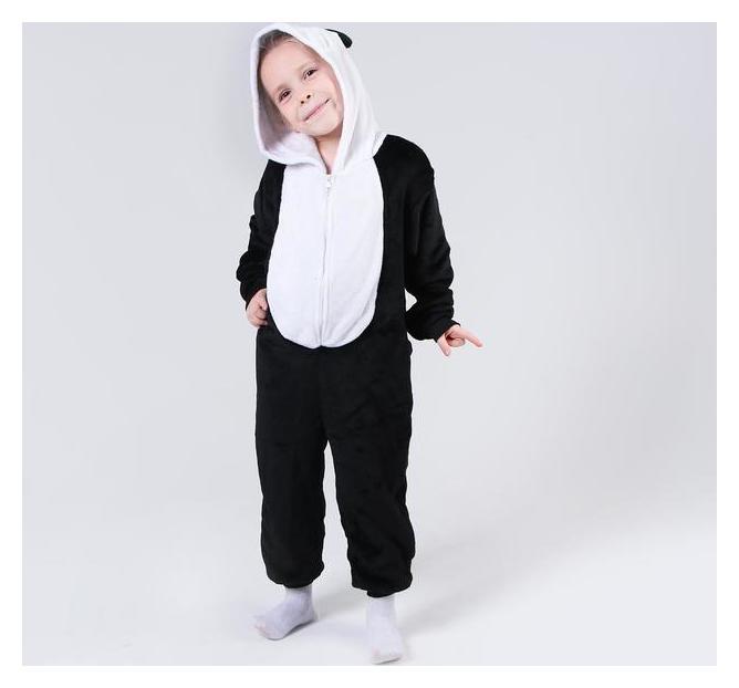 Кигуруми панда закрытые глазки рост 120  Страна Карнавалия