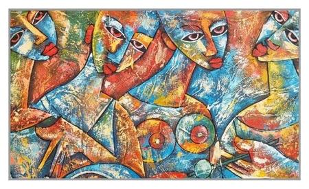 Алмазная мозаика «Девичник» 60×35 см, 38 цветов  Milato