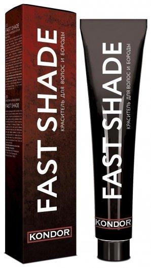 Краситель для волос и бороды Fast shade Kondor