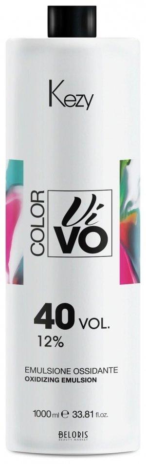 Купить Окислитель для волос Kezy, Окисляющая эмульсия 12% Color Vivo Oxidizing emulsion , Италия