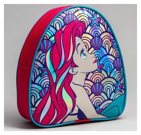 Рюкзак детский через плечо, принцессы: ариель  Disney