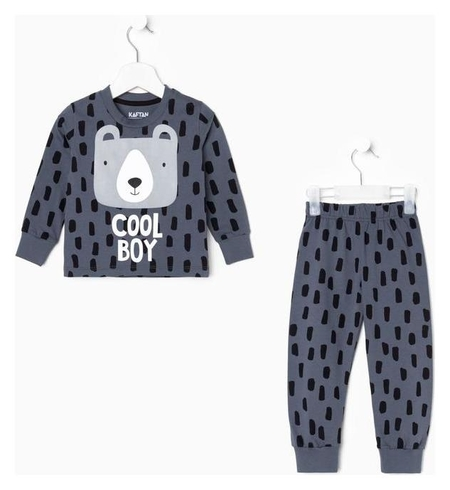 Пижама (Джемпер, брюки) Kaftan Мишка рост 122-128 (34) Kaftan