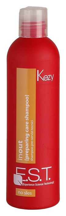 Технический шампунь для глубокой очистки In Out Preparing Care Shampoo Kezy