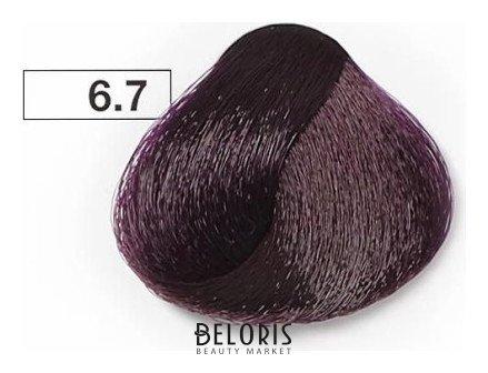 Купить Краска для волос Kezy, Перманентная крем-краска для волос Color Vivo , Италия, Тон 6.7 Темный блондин фиолетовый