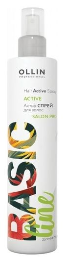 "Актив-спрей для волос ""Hair Active Spray""  OLLIN Professional"